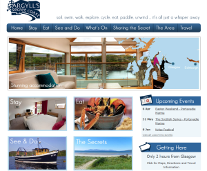Argyll''s Secret Coast homepage