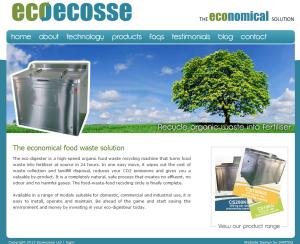 Ecoecosse homepage