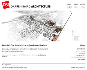 Darren Baird Architecture home page