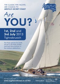 The Fife Regatta event poster