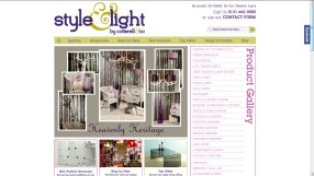 Style and Light homepage